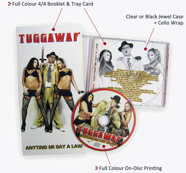 CD Jewel Case Layout
