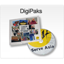 DigiPaks for DVD Duplication