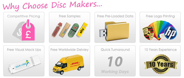 Disc Makers UK Services
