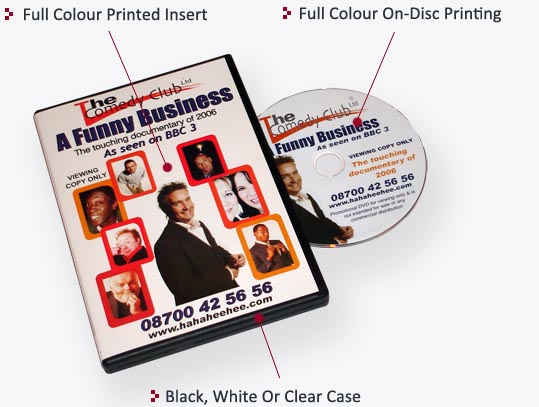 DVD Cases for DVD Duplication