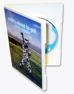 White DVD Case