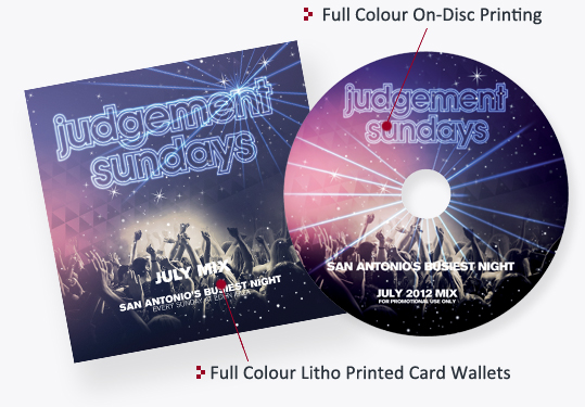 CD / DVD Card Wallets